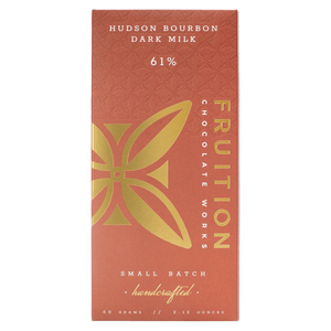 Fruition Hudson Bourbon Dark Milk Chocolate Bar