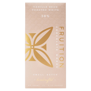 Fruition Vanilla Bean Toasted White Chocolate Bar