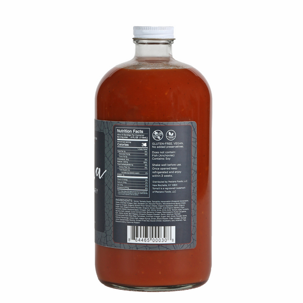 Toma Bloody Mary Mix Original 32oz Bottle Nutrition Facts