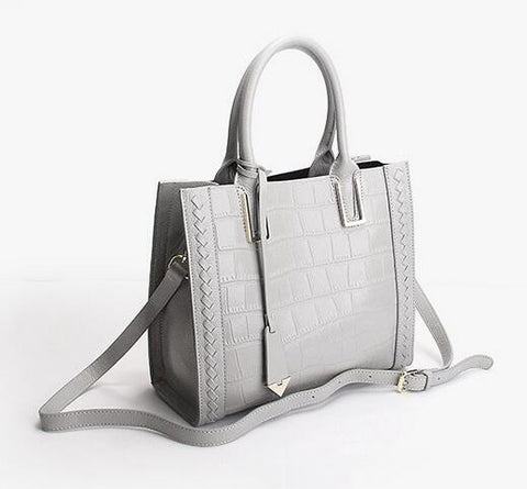 Hello Gator - Leather Hand/Cross-body Bag