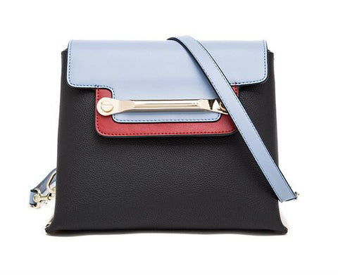 Classy With A Twist Leather Shoulder/Cross-body Bag