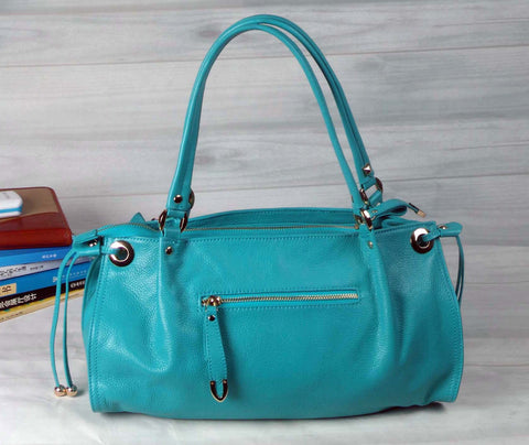 Flower Power Tote - Teal