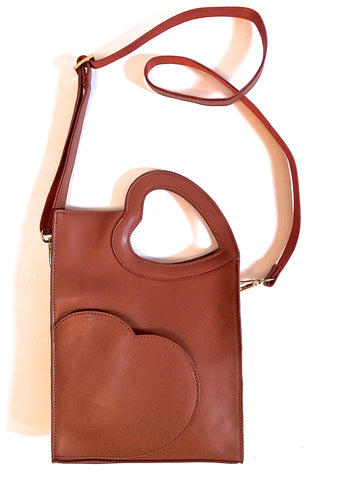 Heart To Handle Crossbody - Brown
