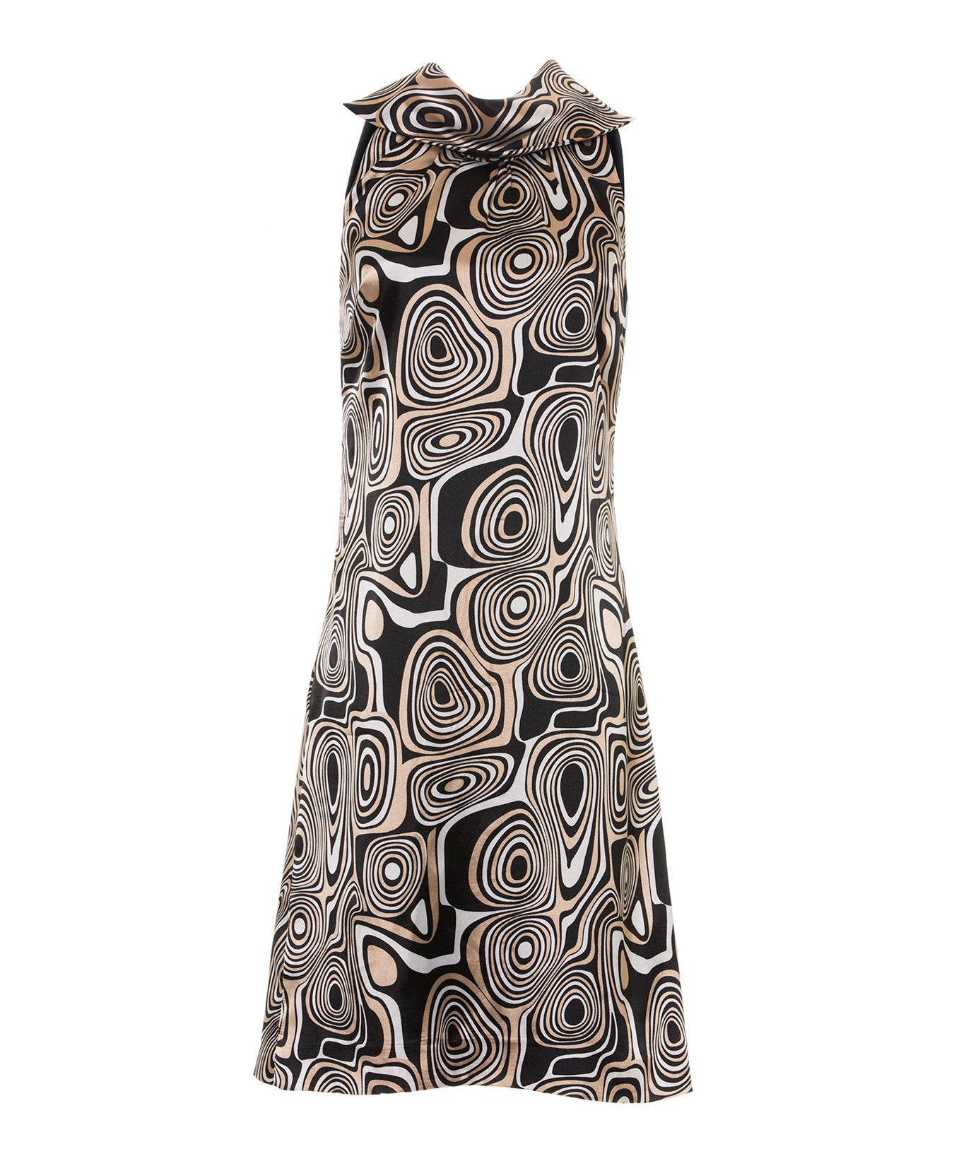 Odile - Multi-purpose dress with geometrical design inspired by the 70