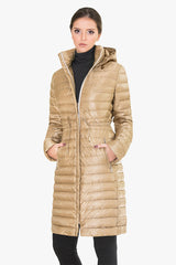 Hooded Quilted Shell Down Jacket