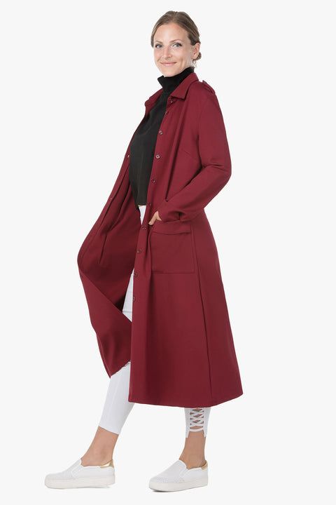 Outstanding Stretch Dress-Coat