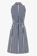 Striped Dress - made from stretch cotton