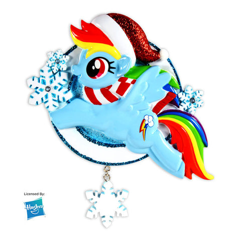 MY LITTLE PONY-RAINBOW DASH W/SNOWFLAKE