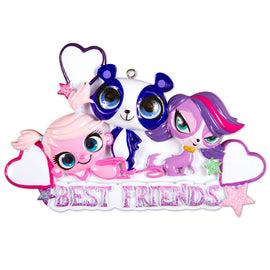 LITTLEST PET SHOP-BEST FRIENDS TRIO