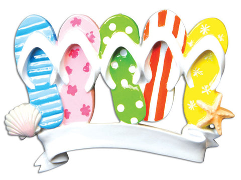 FLIP FLOP FAMILY OF 5