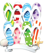 FLIP FLOP FAMILY OF 6