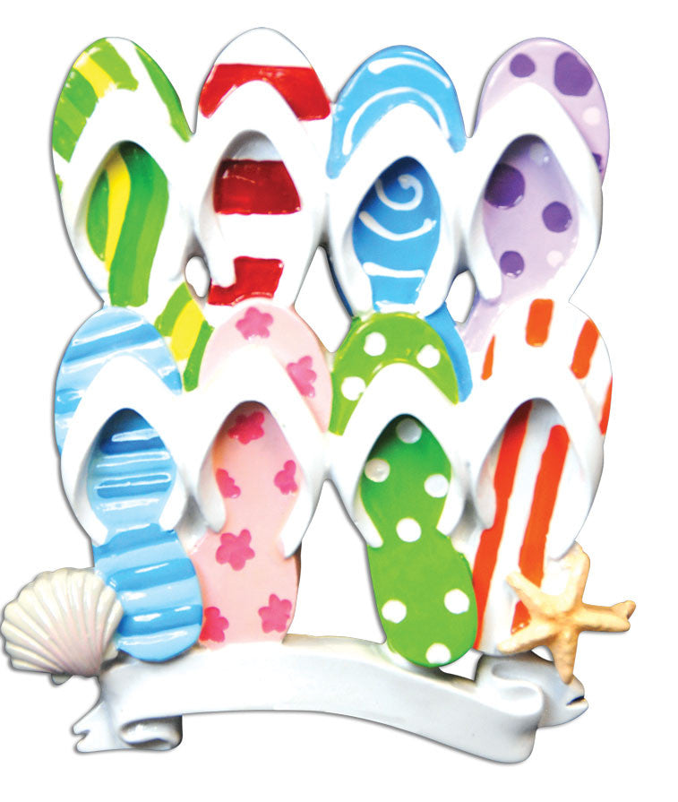 FLIP FLOP FAMILY OF 4