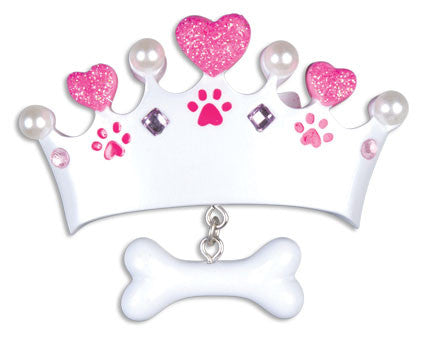 PRINCESS DOG BONE