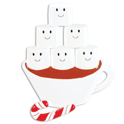 HOT CHOCOLATE FAMILY OF 6
