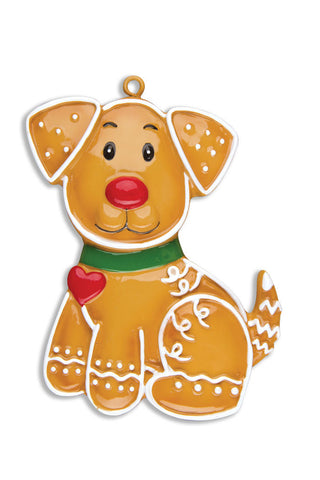 GINGERBREAD DOG