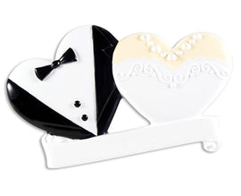 COUPLES-BRIDE & GROOM WEDDING COOKIES