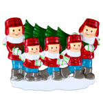 CHRISTMAS TREE LOT FAMILY OF 5