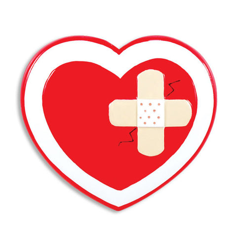 NURSE HEART W/BAND AID