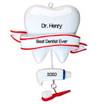 Personalized Christmas Ornaments Occupation-Dentist/Personalized by Santa/Dentist Ornament, Dentist Christmas Ornament