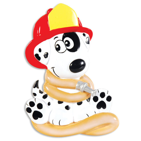 PERSONALIZED CHRISTMAS ORNAMENT OCCUPATION-FIREHOUSE DALMATIAN