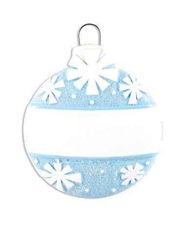CHRISTMAS BALL-BLUE