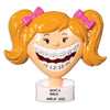 Grantwood Technology Personalized Christmas Ornaments Brace Face WE Customize for You Girl / Personalized by Santa/Braces Ornament/Braces Christmas Ornament