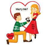 Grantwood Technology Personalized Christmas Ornaments Couples Engagement People