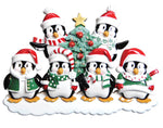 WINTER PENGUIN FAMILY OF 6