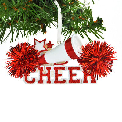 CHEERLEADER RED CHEER