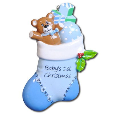 BABY STOCKING-BLUE