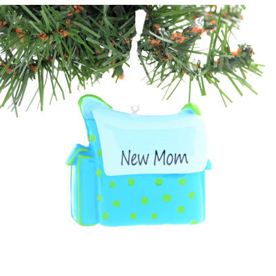 NEW MOM DIAPER BAG BLUE