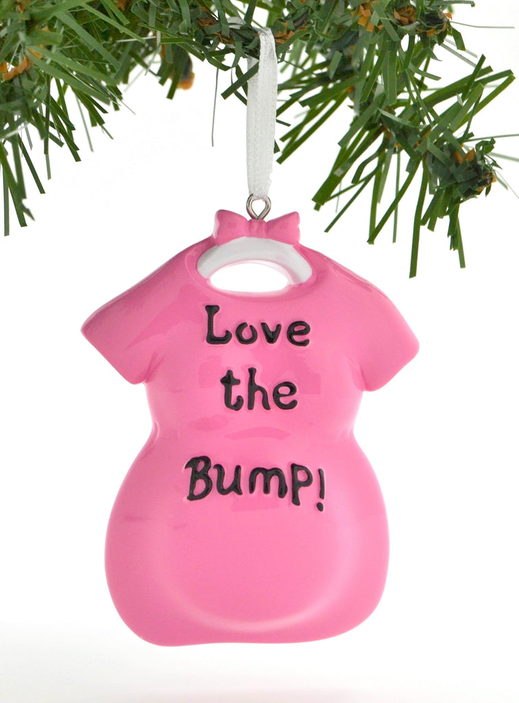 LOVE THE BUMP BABY PREGNANCY EXPECTING PINK