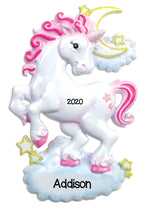 Personalized Christmas Ornaments -Unicorn/Personalized by Santa/Unicorn Ornament for Kids/Unicorn Ornament