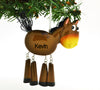 Personalized Christmas Ornament Horse with Dangle Legs/Personalized by Santa/Horse Ornament/Horse Christmas Ornament…