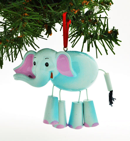 CHILD'S ELEPHANT WITH DANGLE LEGS