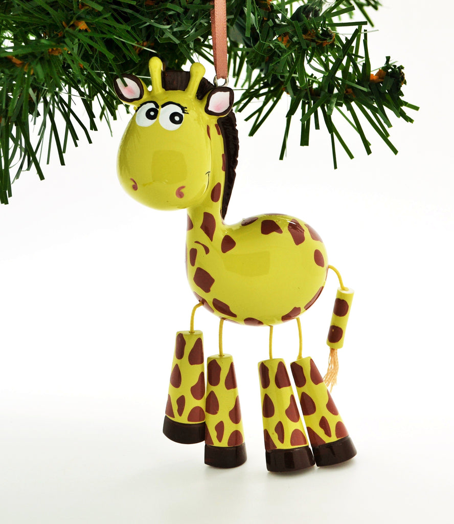 CHILD'S GIRAFFE WITH DANGLE LEGS