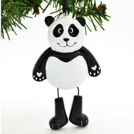 CHILD'S PANDA WITH DANGLE LEGS