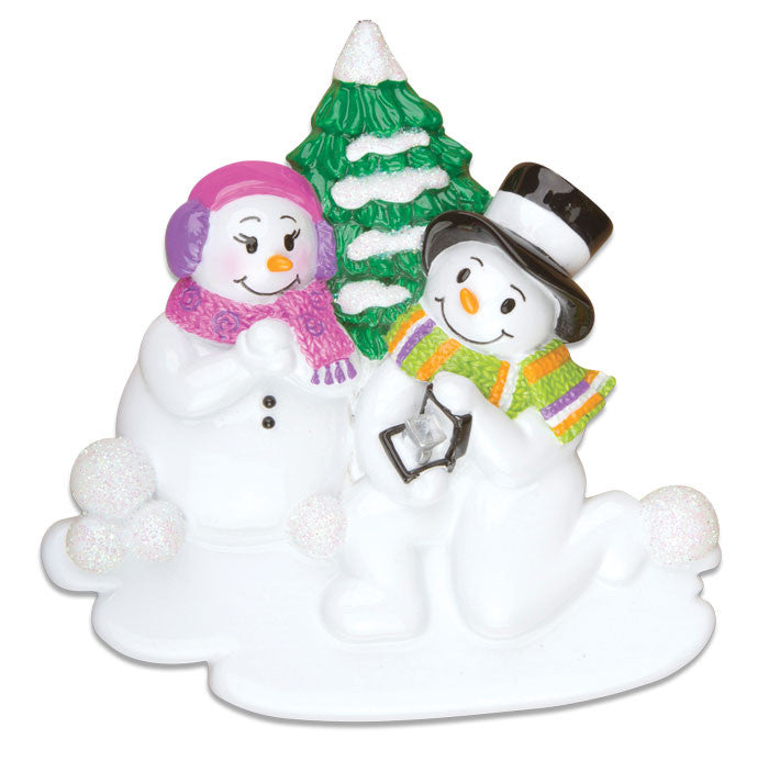 COUPLES-ENGAGEMENT SNOW COUPLE
