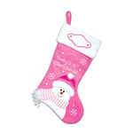 Pink Baby's First Stocking