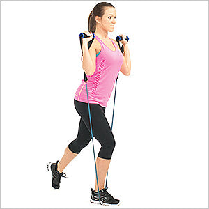 Leg Lunge (Lunges)
