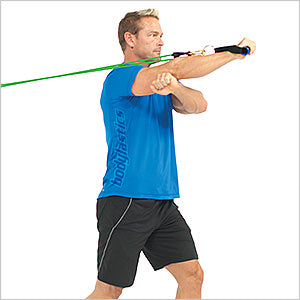 One Arm Forward Triceps Extension