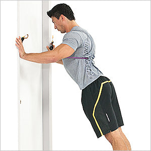 Resisted Door Push Up