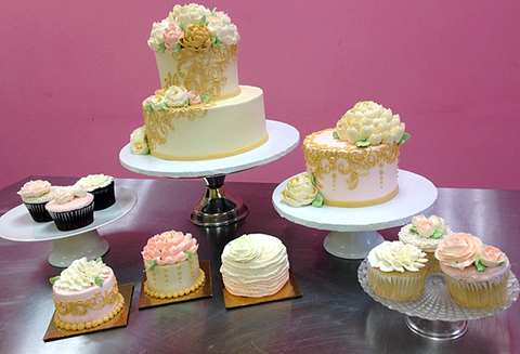 Collection 1: Vintage Cake and Cupcake Collection with Marianne Carroll