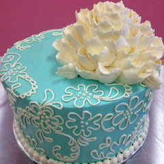 Collection 1: White Flower Cake Shoppe Buttercream Piping Designs: Paisley, Filigree scrolling, and Lace patterns with Marianne Carroll
