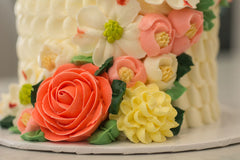 Collection 3:  Beautiful Buttercream Garden Cakes