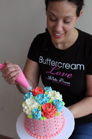 White Flower Buttercream Love T-shirts  HAVE ARRIVED!!!