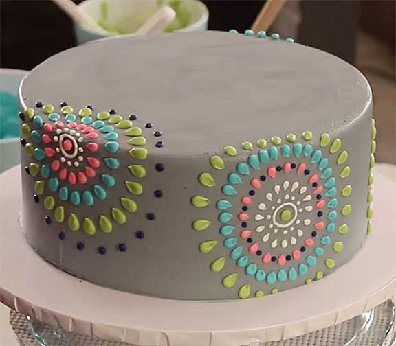 How To Decorate With Patterns 3 Major Secrets: Collection 2: NEW! Modern Pattern Buttercream Piping
