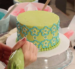 Collection 2: NEW! Modern Pattern Buttercream Piping Designs