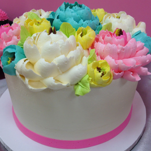 Collection 1: White Flower Cake Shoppe Signature Buttercream Flower Video Tutorial