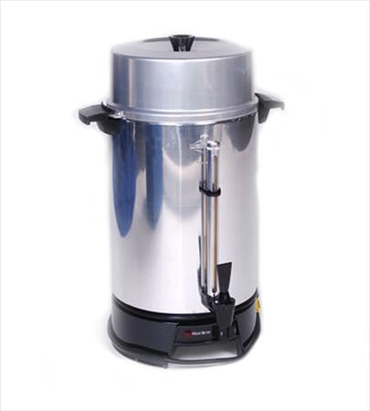 Coffee Maker, 100 Cups, Aluminum